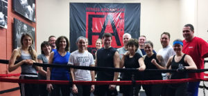 Group Fitness Training Classes - Boxing Gym