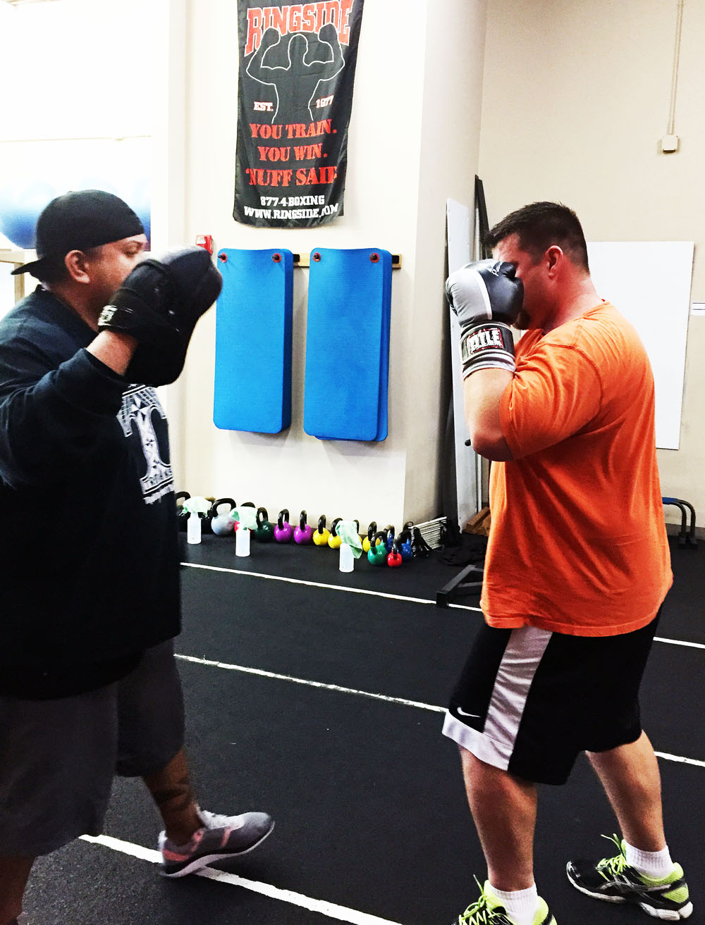 Personal Trainer - Training with a Personal Trainer - Boxing Training at an upscale boxing gym