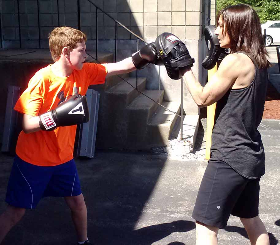 One on One Training with a Personal Trainer - Boxing Training at an upscale boxing gym