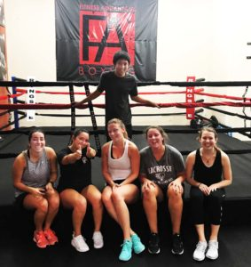 Group Boxing Fitness Classes - FA Boxing | Fitness Advantage Medfield MA